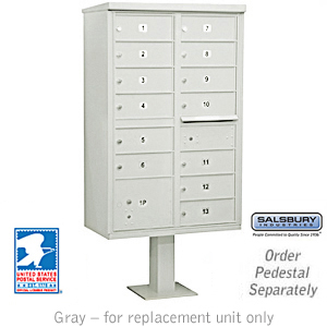Clusterr Box Unit Gray