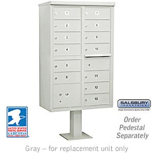 Clusterr Box Unit Gray