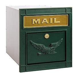 Column Mounted Mailbox