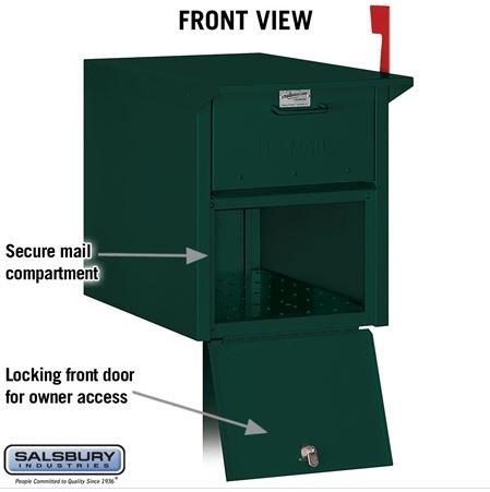 4350 Locking Mailbox Front View
