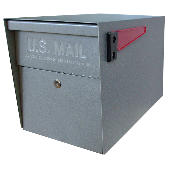 Mail Boss Ultimate Curbside Locking Security Mailbox - No Post  Mail Boss Ultimate Curbside Locking Security Mailbox