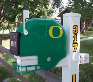 Oregon Ducks NCAA Mailbox