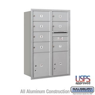 4C Commercial mailboxes with Parcel Lockers